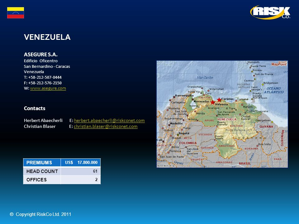 VENEZUELA ASEGURE S.A. Contacts