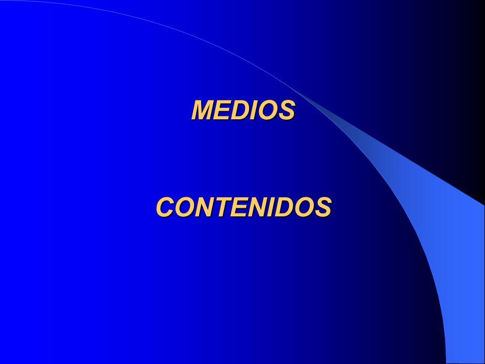 MEDIOS CONTENIDOS