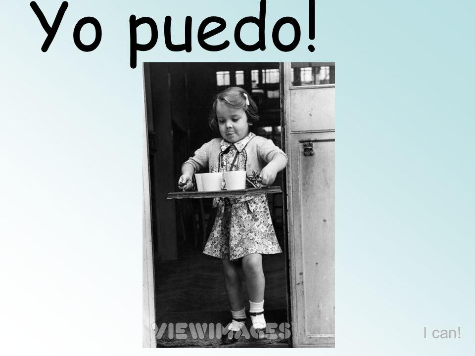 Yo puedo! I can!