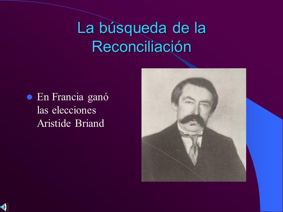 La búsqueda de la Reconciliación