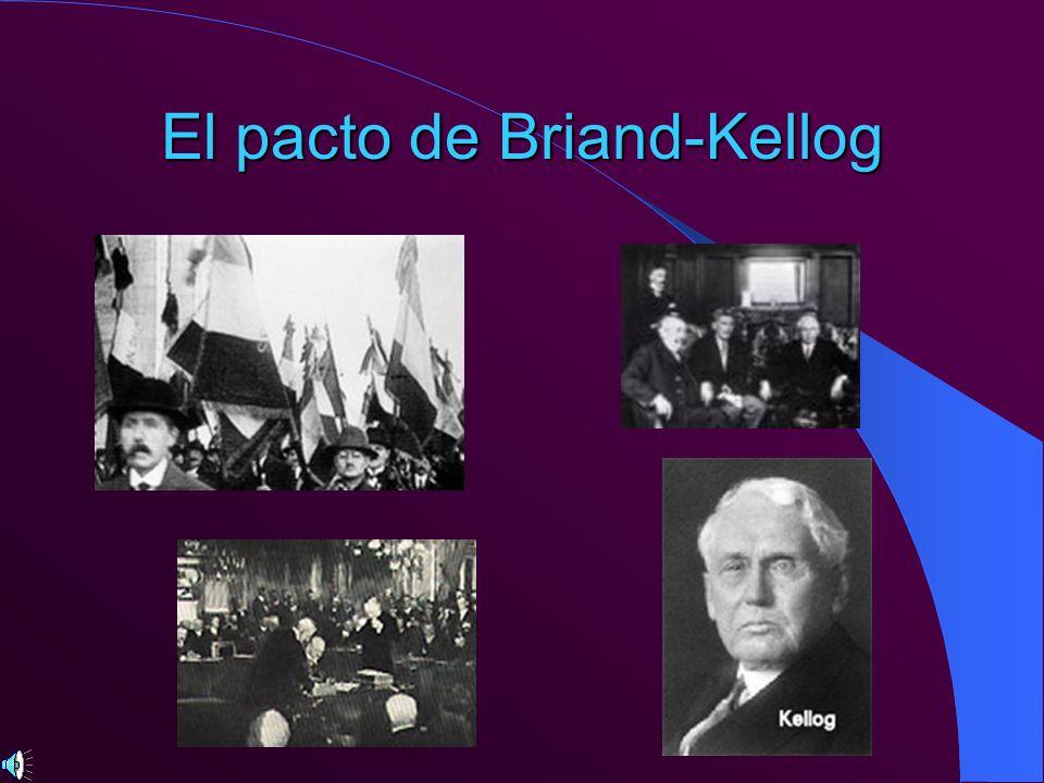 El pacto de Briand-Kellog