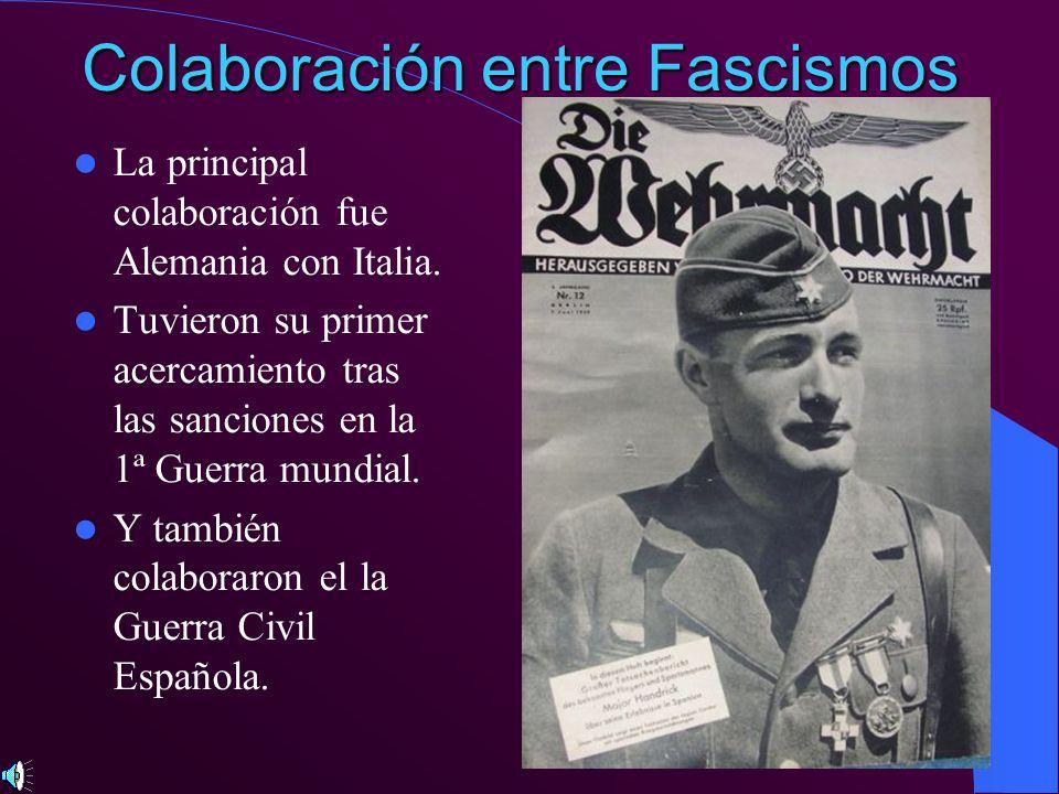 Colaboración entre Fascismos