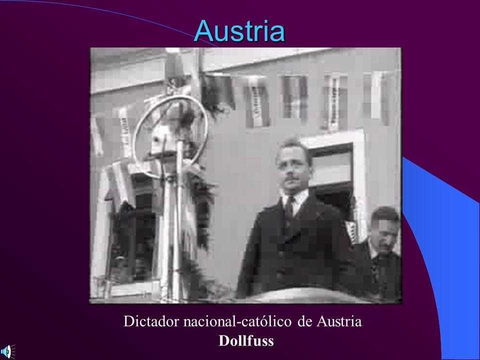 Dictador nacional-católico de Austria
