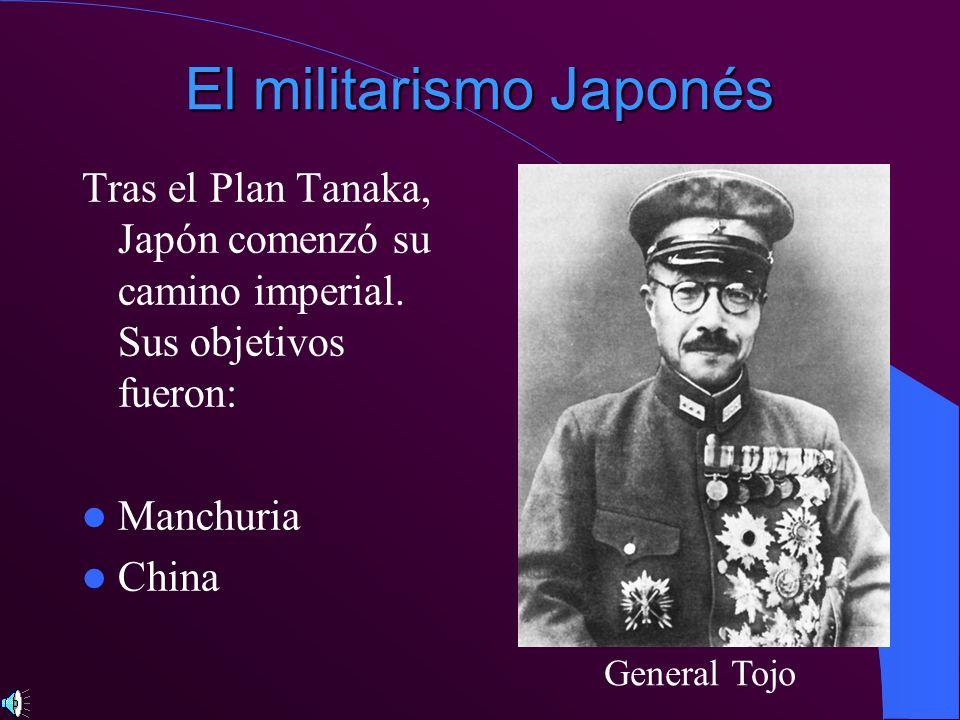 El militarismo Japonés