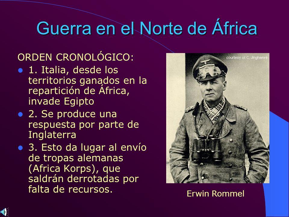 Guerra en el Norte de África