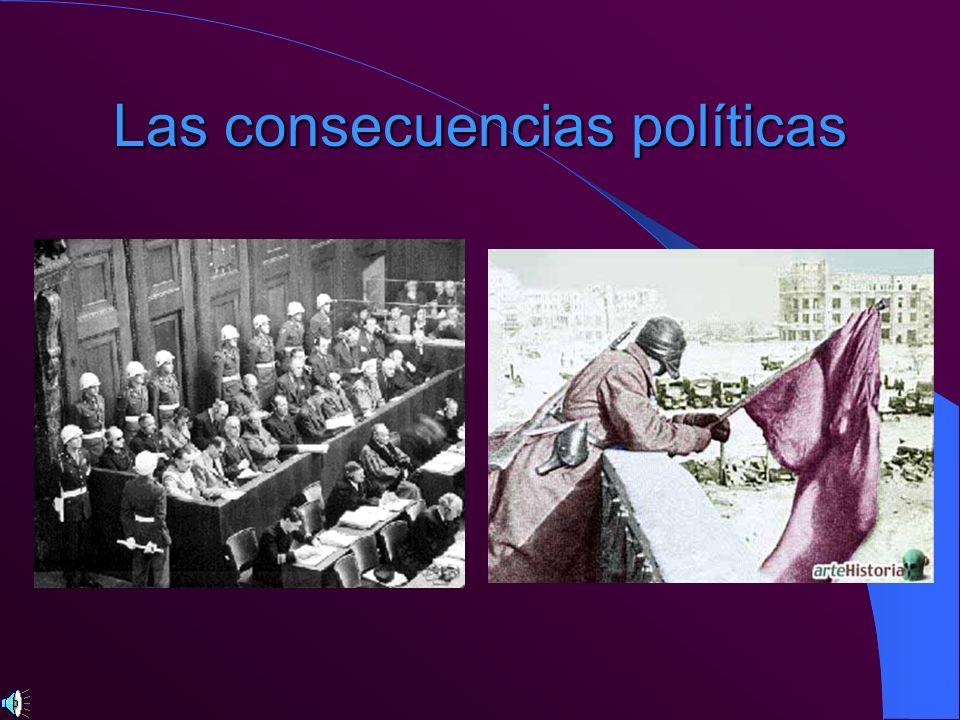 Las consecuencias políticas