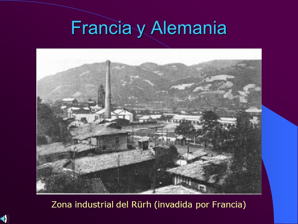 Zona industrial del Rürh (invadida por Francia)