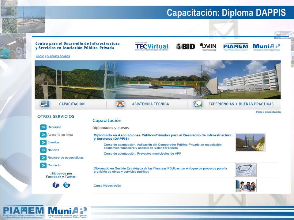 Capacitación: Diploma DAPPIS