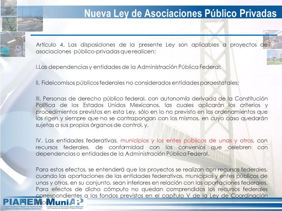Nueva Ley de Asociaciones Público Privadas