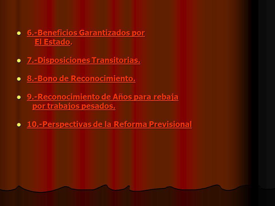 6.-Beneficios Garantizados por
