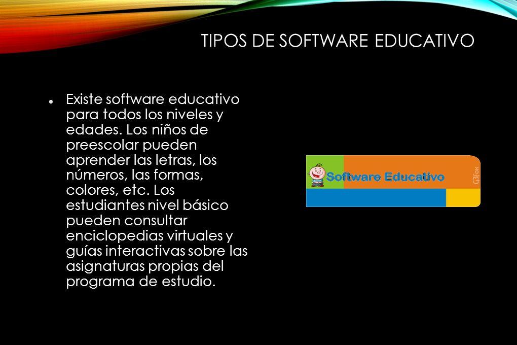 INFORMATICA II. TEMA: SOFTWARE EDUCATIVO. - ppt descargar