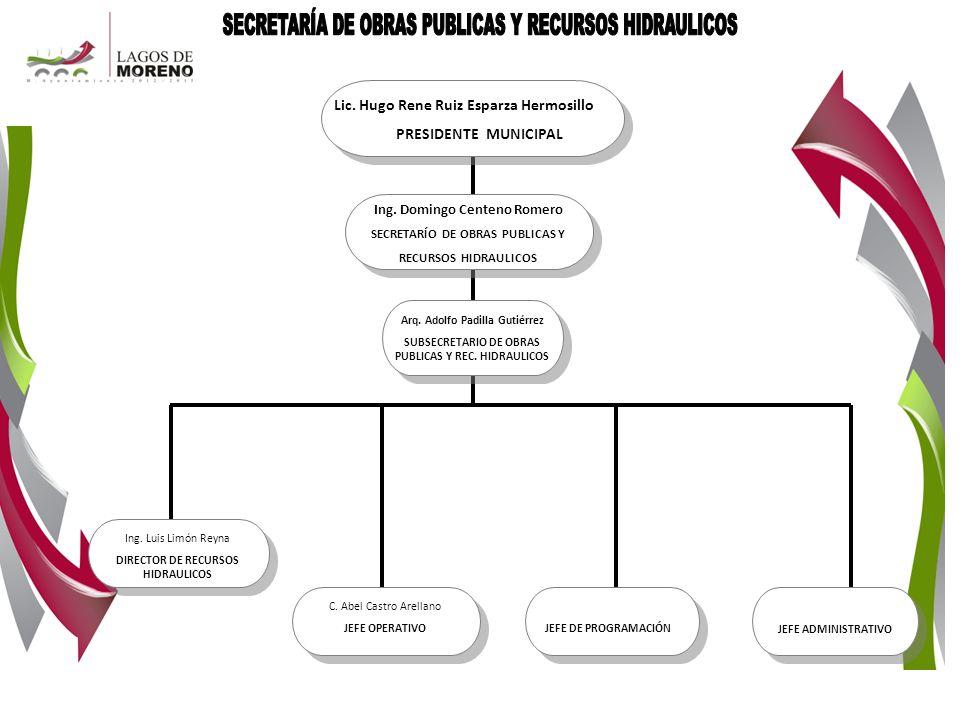 SECRETARÍA DE OBRAS PUBLICAS Y RECURSOS HIDRAULICOS