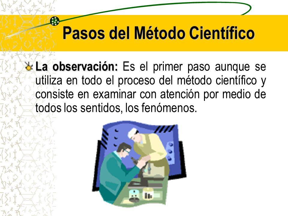 Biologia primer grado unidad i ppt descargar for En que consiste el metodo cientifico