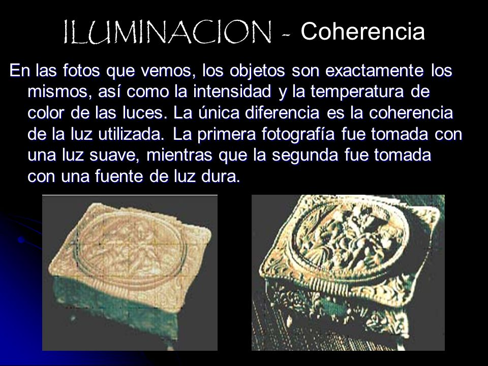 ILUMINACION - Coherencia