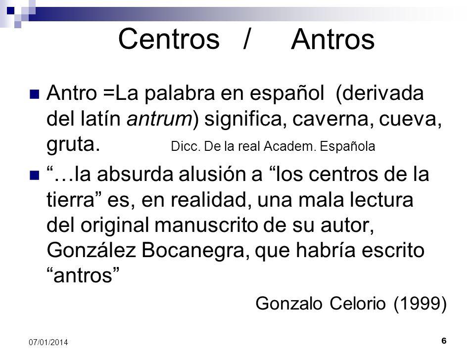 Centros /Antros.