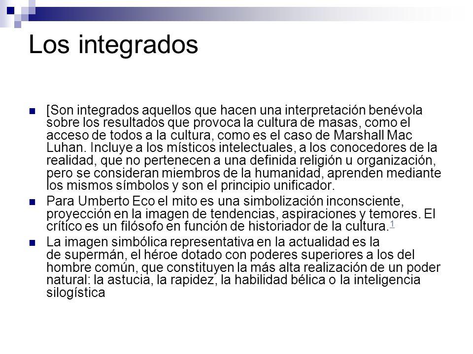 Los integrados