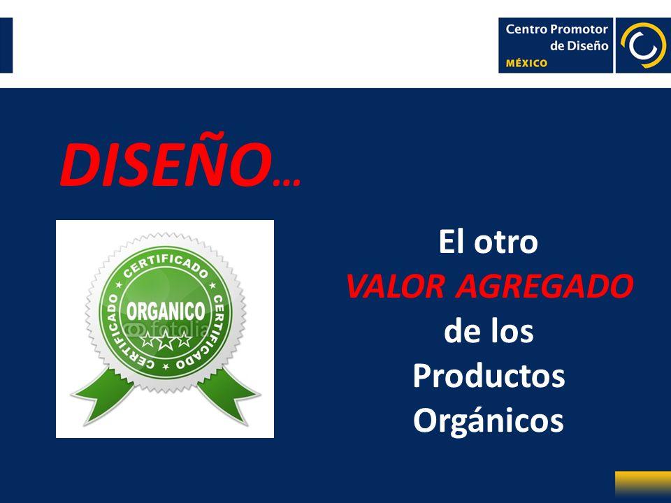 DISEÑO… El otro VALOR AGREGADO de los Productos Orgánicos