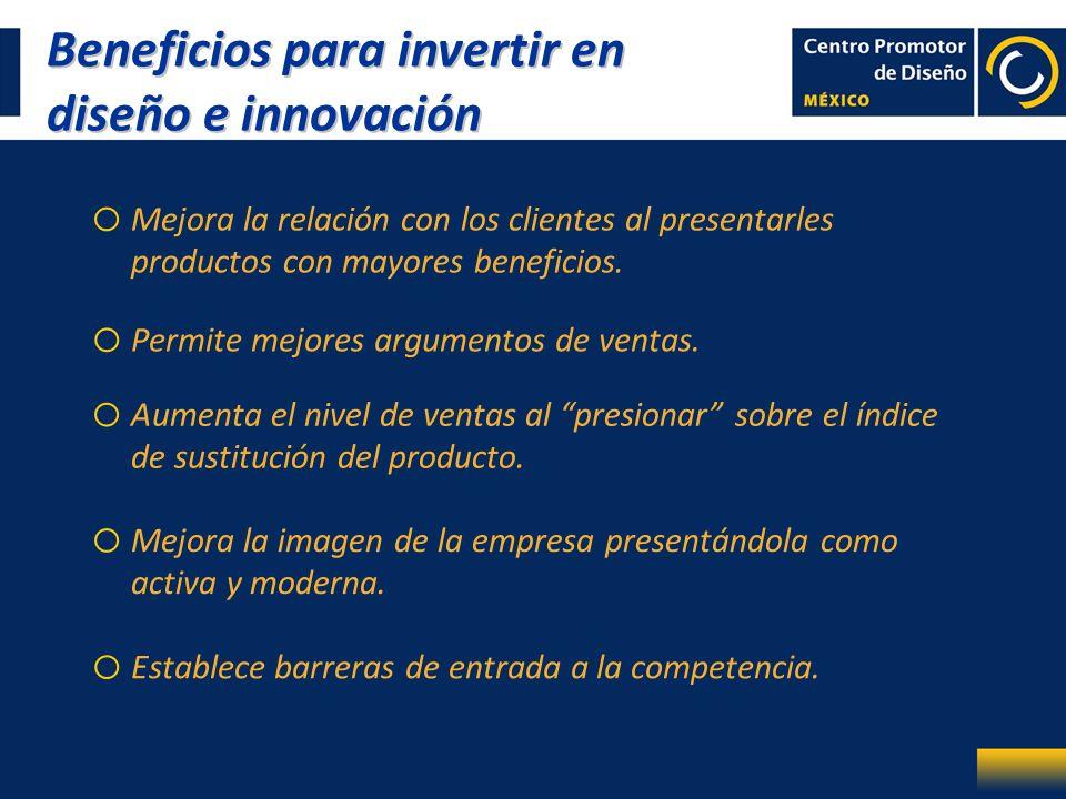 Beneficios para invertir en diseño e innovación