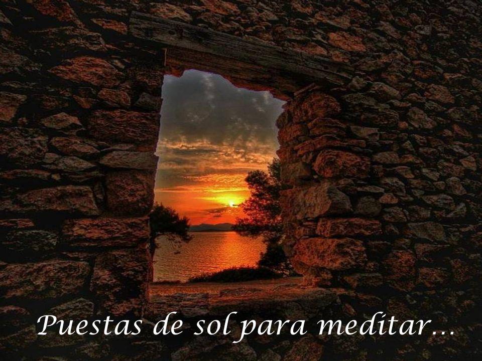 Puestas de sol para meditar…
