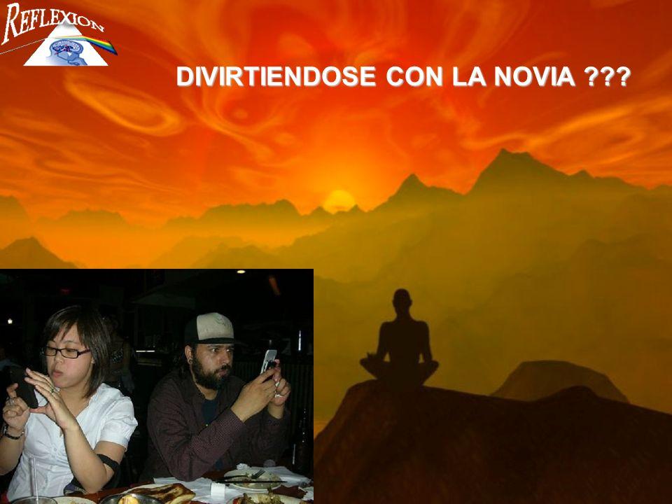 DIVIRTIENDOSE CON LA NOVIA