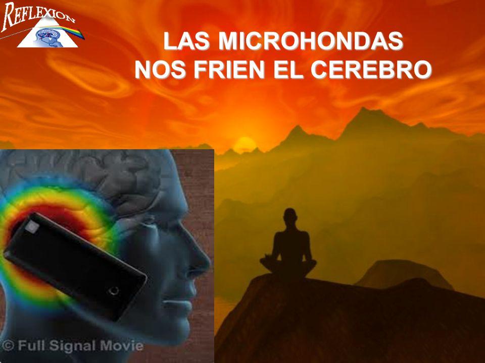 LAS MICROHONDAS NOS FRIEN EL CEREBRO