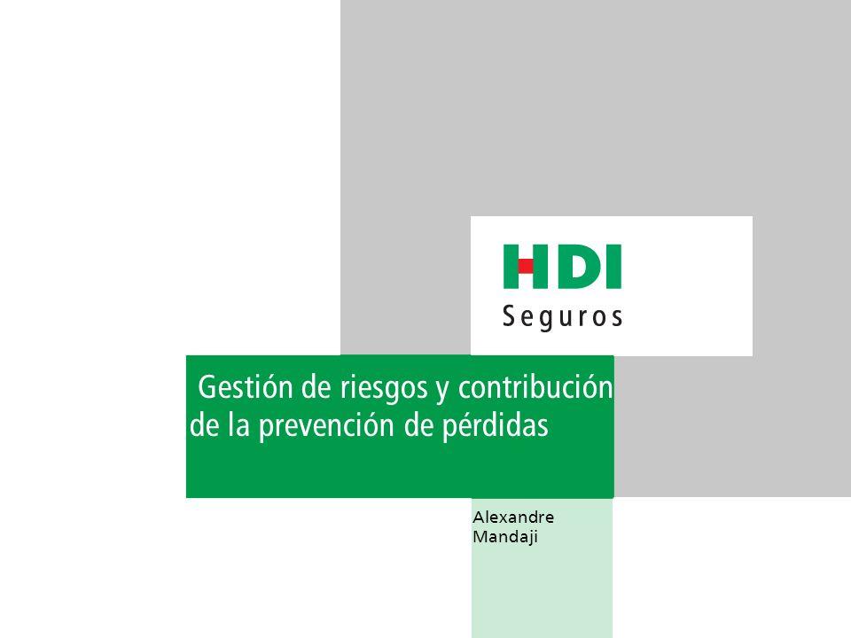 Gestión de riesgos y contribución de la prevención de pérdidas