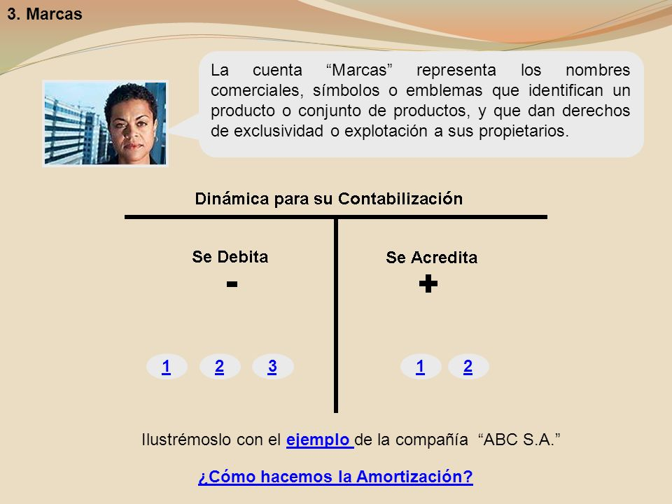 3. Marcas