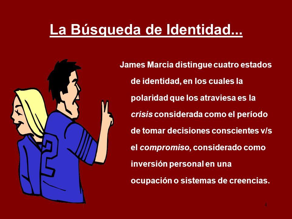 La Búsqueda de Identidad...