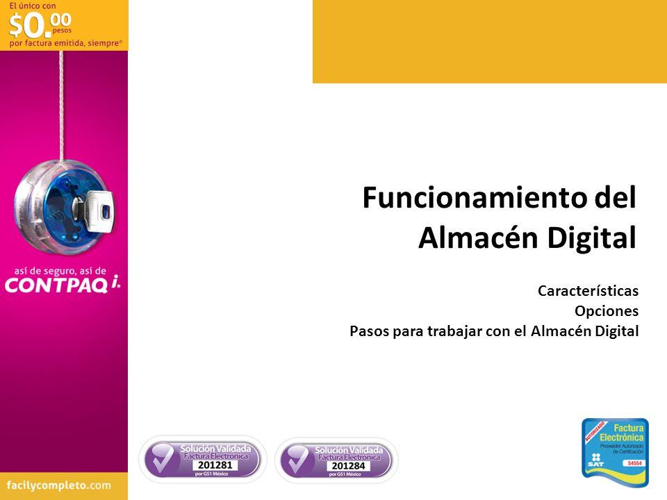 Funcionamiento del Almacén Digital