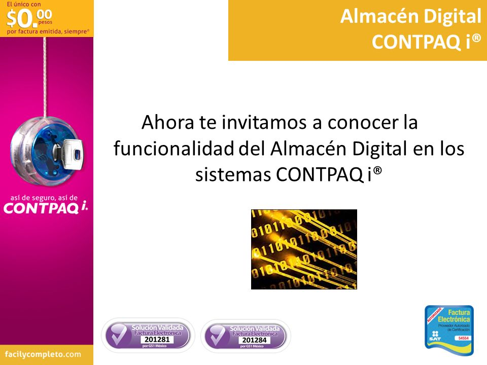 Almacén Digital CONTPAQ i®
