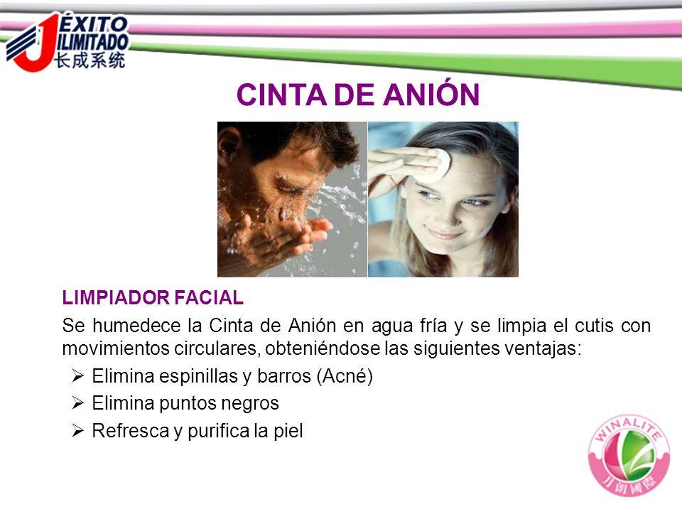 CINTA DE ANIÓN LIMPIADOR FACIAL