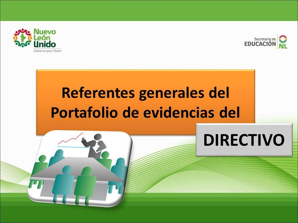 TIPOS DE PORTAFOLIO DE EVIDENCIAS. DE LOS DIRECTIVOS Y SUS ELEMENTOS