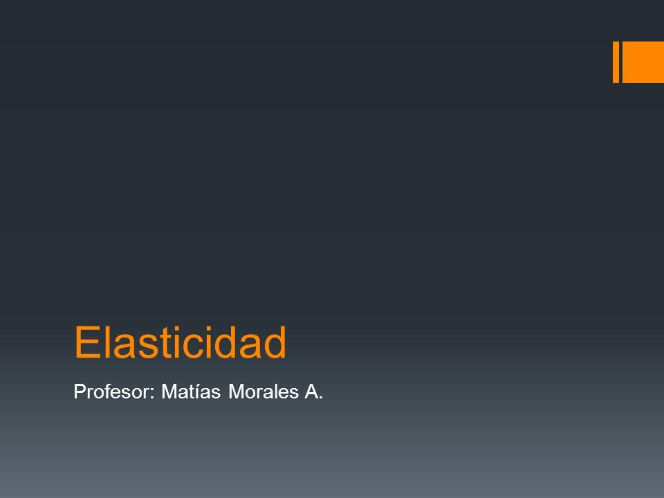 Profesor: Matías Morales A.