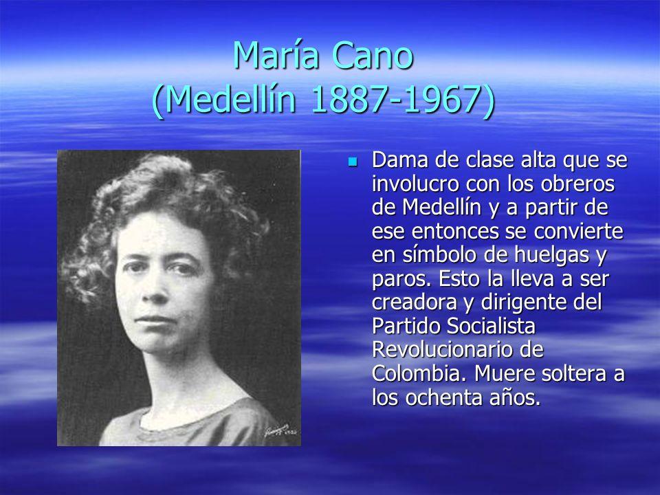 María Cano (Medellín 1887-1967)