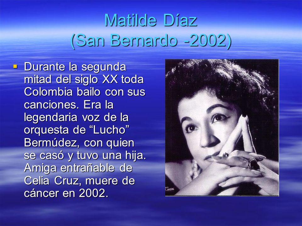 Matilde Díaz (San Bernardo -2002)