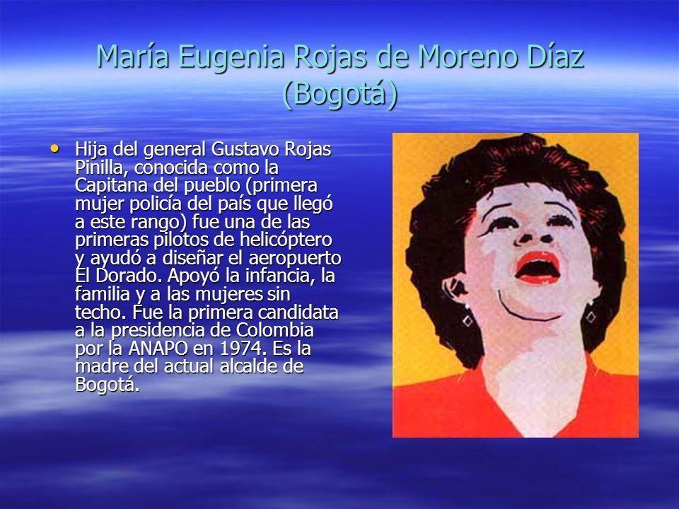María Eugenia Rojas de Moreno Díaz (Bogotá)