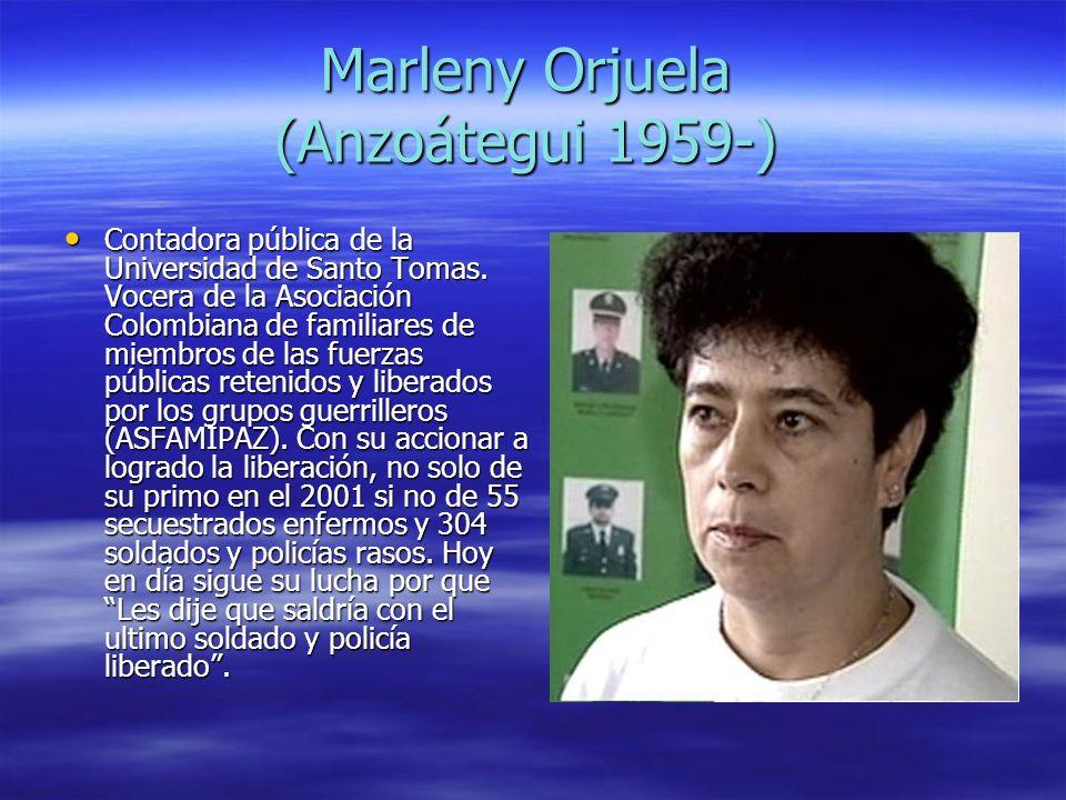 Marleny Orjuela (Anzoátegui 1959-)
