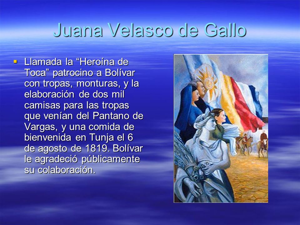 Juana Velasco de Gallo