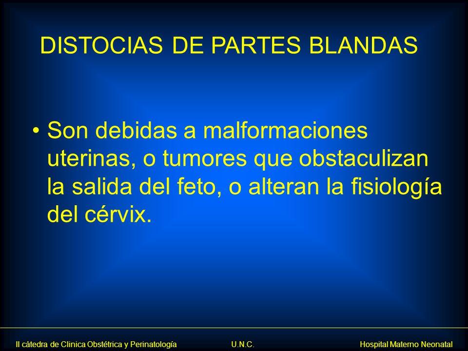 DISTOCIAS DE PARTES BLANDAS
