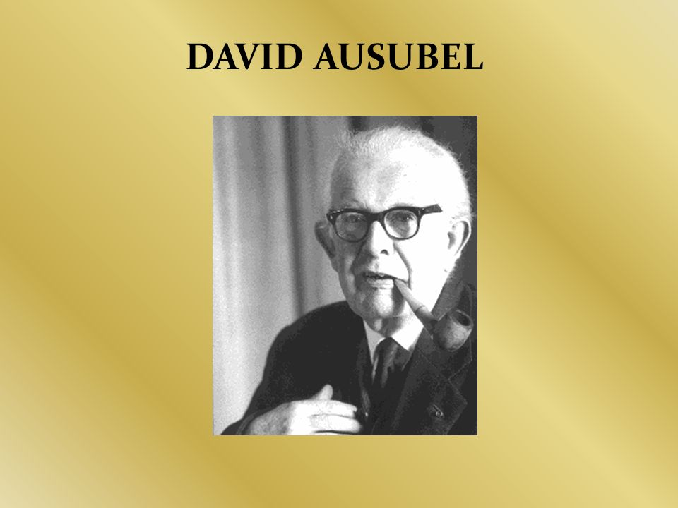 DAVID AUSUBEL