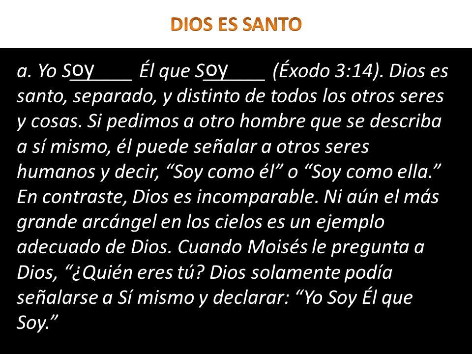 DIOS ES SANTOoy. oy.