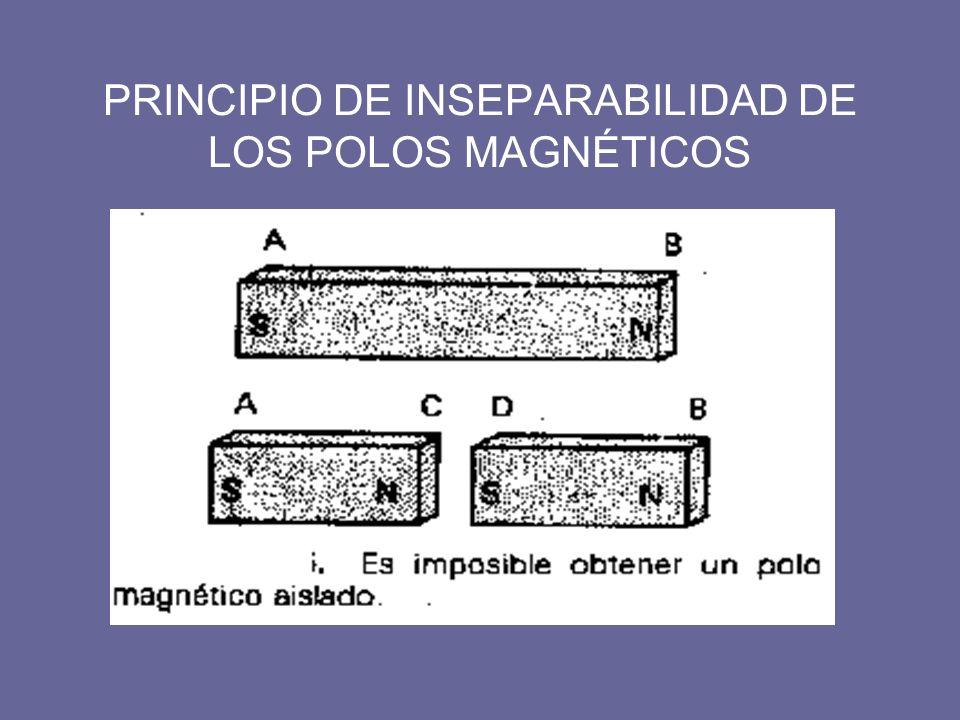 PRINCIPIO DE INSEPARABILIDAD DE LOS POLOS MAGNÉTICOS