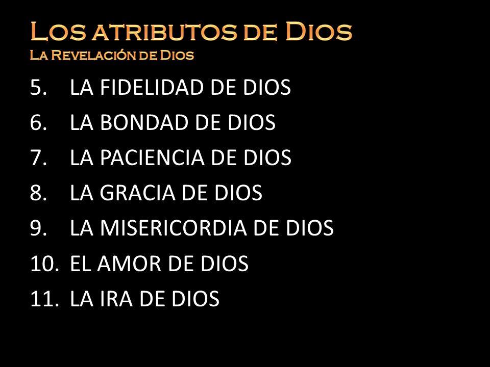 Los atributos de Dios La Revelación de Dios