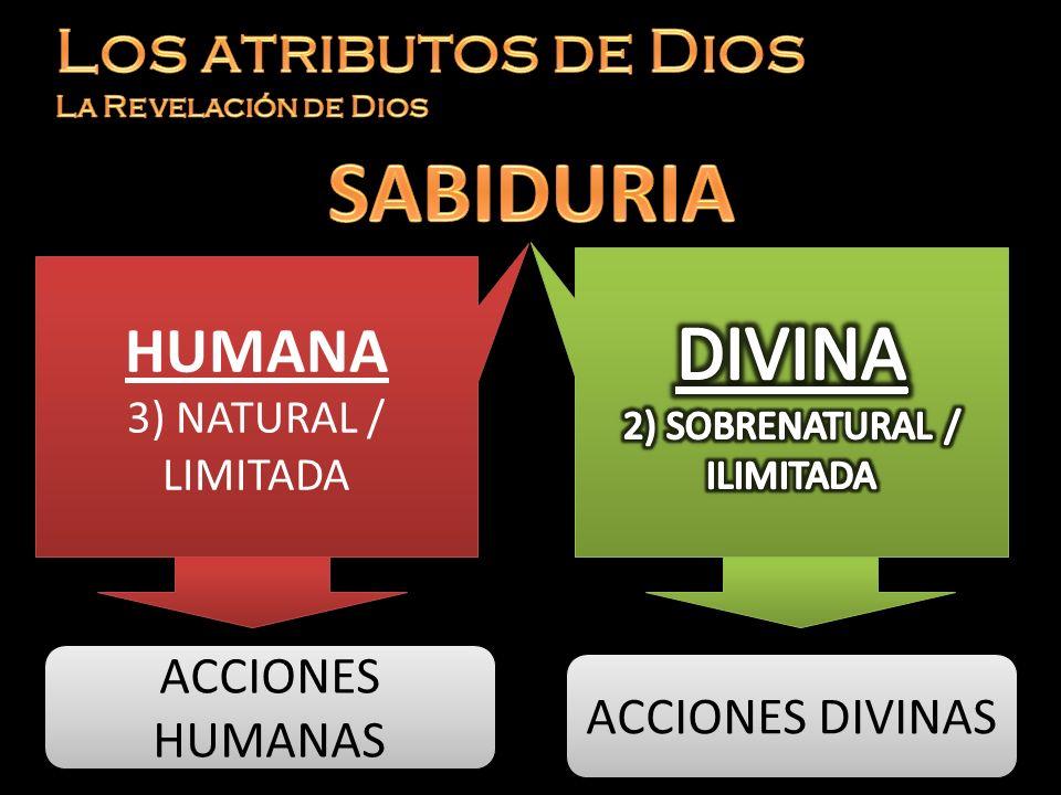 2) SOBRENATURAL / ILIMITADA