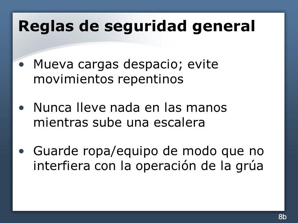 Reglas de seguridad general