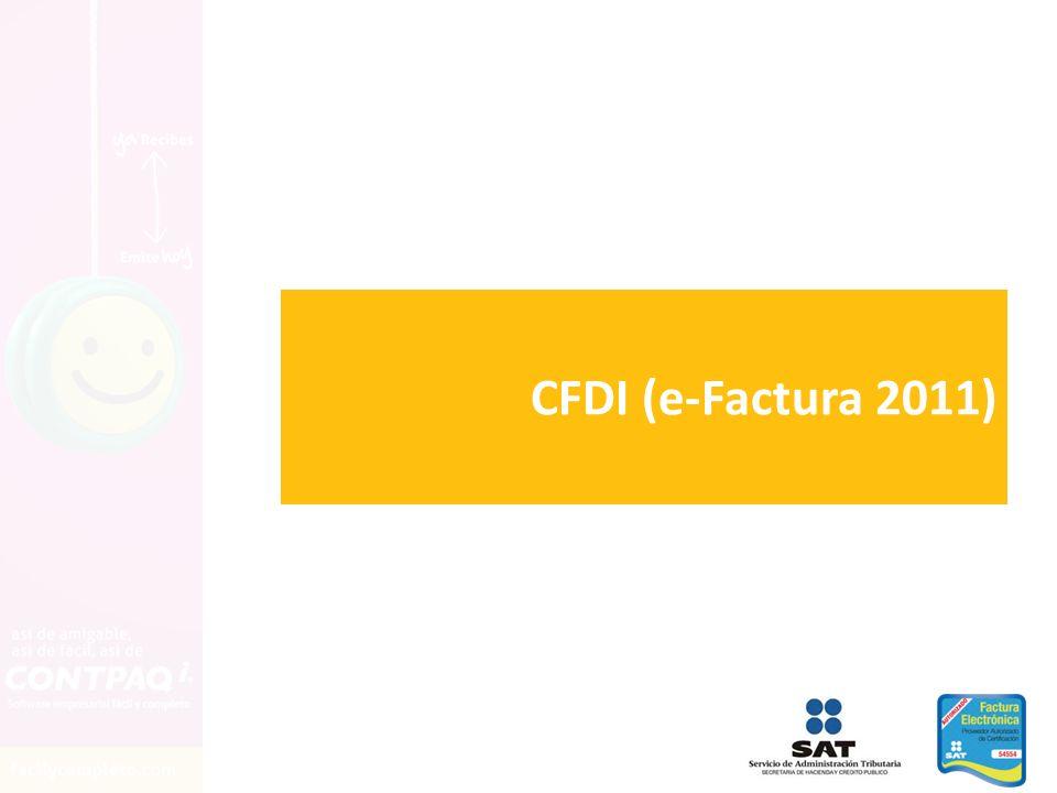 CFDI (e-Factura 2011)
