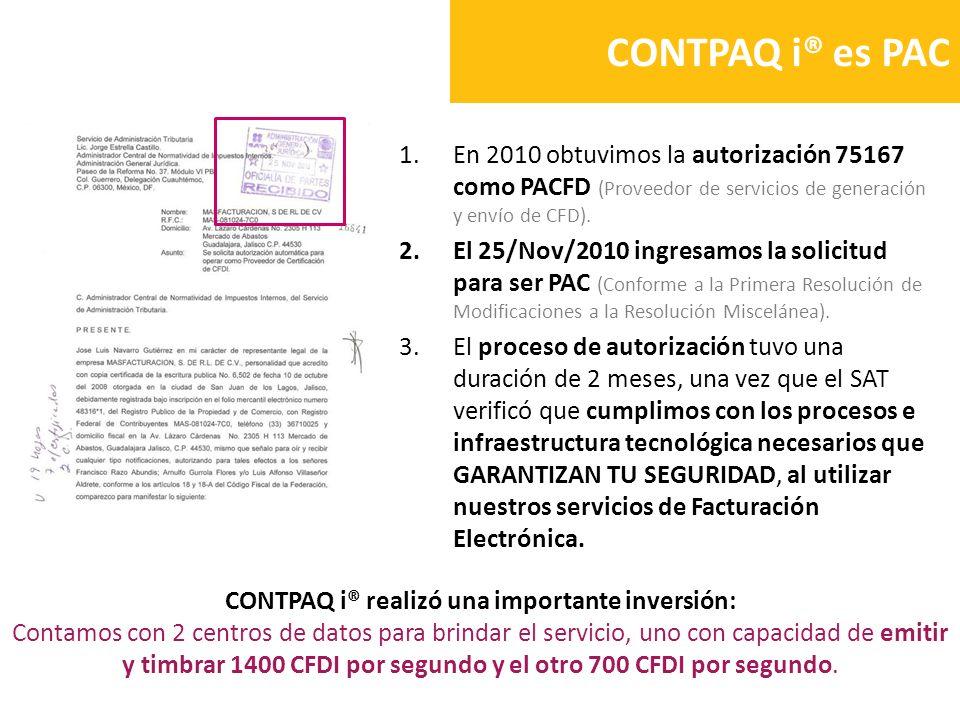 CONTPAQ i® realizó una importante inversión: