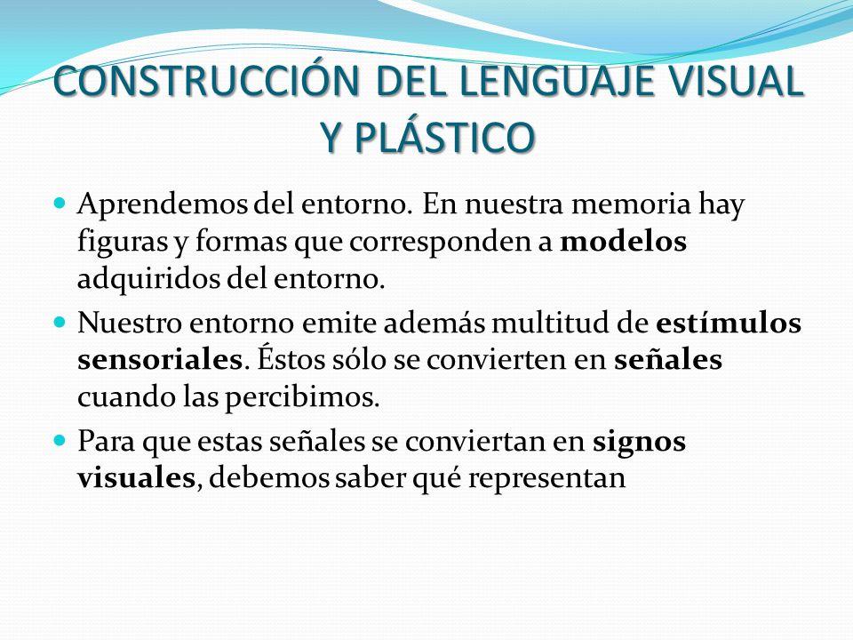 CONSTRUCCIÓN DEL LENGUAJE VISUAL Y PLÁSTICO