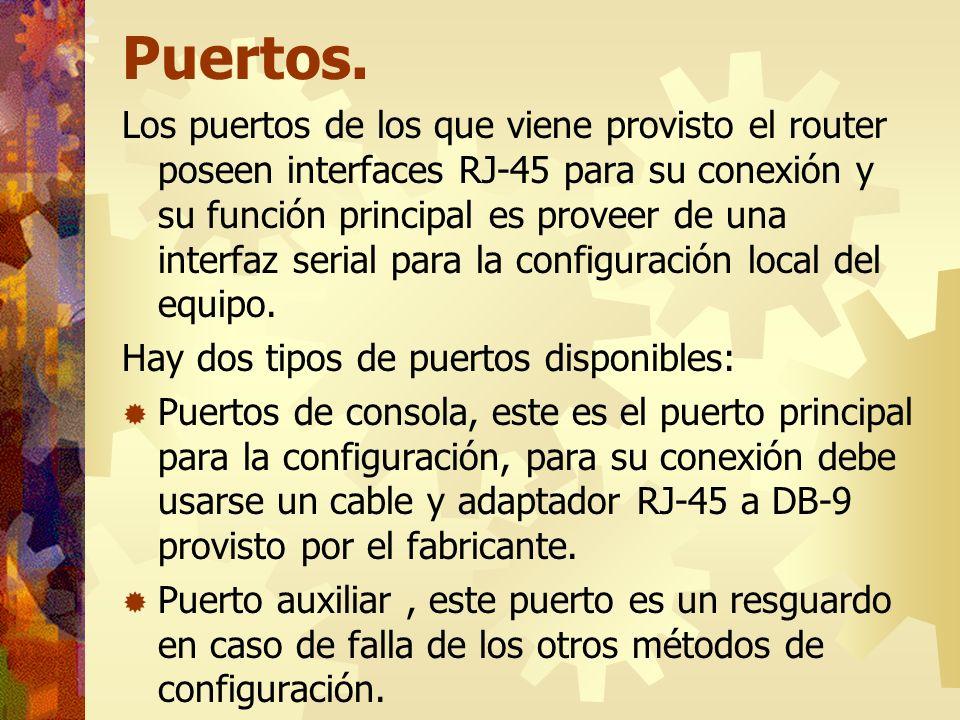 Puertos.