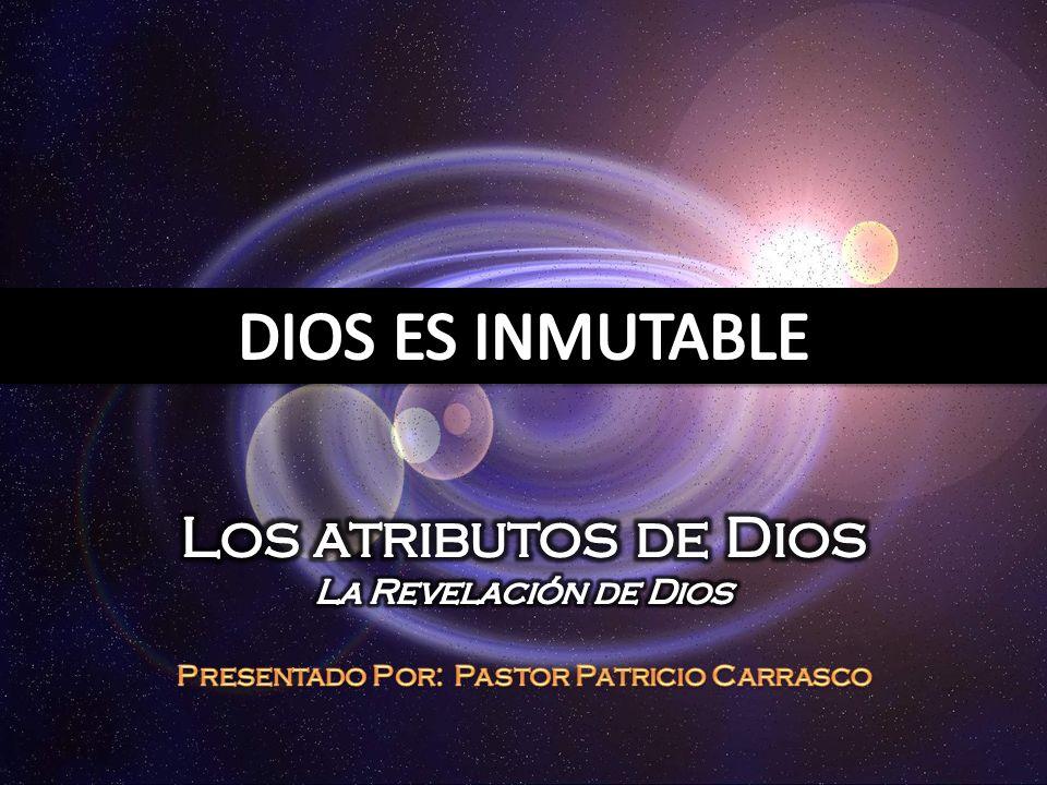 Presentado Por: Pastor Patricio Carrasco
